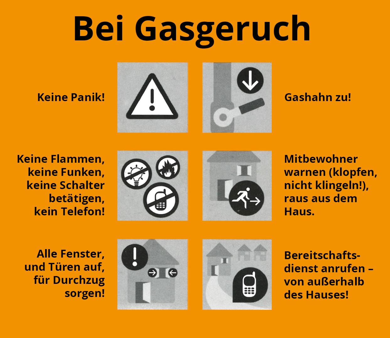 Warnung: Was tun bei Gasgeruch? Checkliste Sicherheit bei Gasgeruch – GEO Energie Ostalb